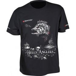 Tričko Dragon Hells Anglers Ostriež