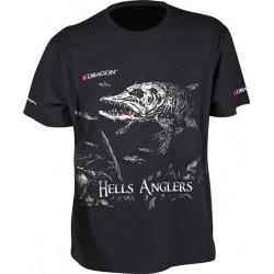 Tričko Dragon Hells Anglers Šťuka
