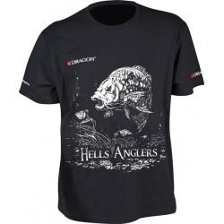 Tričko Dragon Hells Anglers Kapor