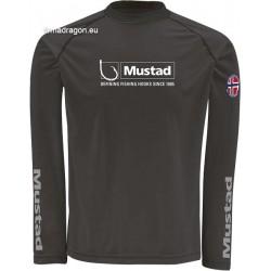 Tričko Mustad Day Perfect, čierne